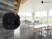 Wi-Fi Mini iP беспроводная панорамная камера видеонаблюдения V2 Lemon Tree (Черный)
