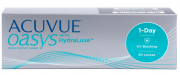 Контактные линзы Acuvue Oasys 1-Day with HydraLuxe 30 линз -5,5