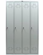 Шкаф для одежды медицинский HILFE ПРАКТИК МД LS(LE) 41