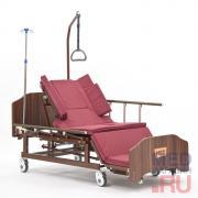 Кровать медицинская функциональная с туалетным устройством MET REMEKS, арт.16742