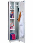 Шкаф для одежды медицинский HILFE МД 1 ШМ-SS