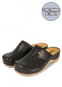 Женские тапочки-сабо Leon 912 (черный) 38