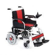 Кресло-коляска c электроприводом складная для инвалидов Армед ФС111А (пневматические колеса)
