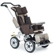 Кресло-коляска для детей с ДЦП Akces-med Рейсер-2 (Кофе, Без навеса)