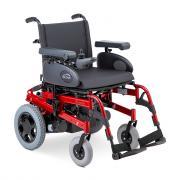 Кресло-коляска c электроприводом Sunrise Medical Rumba (электроколяска) пневматические колеса (42см) красная