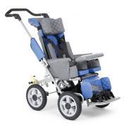 Кресло-коляска для детей с ДЦП Akces-med Рейсер-2 (Деним, Без навеса)