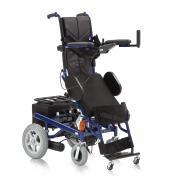 Инвалидная кресло-коляска c электроприводом и функцией вертикализации Армед FS 129