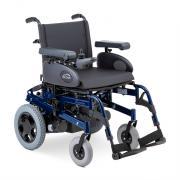 Кресло-коляска c электроприводом Sunrise Medical Rumba (электроколяска) пневматические колеса (42см) синяя