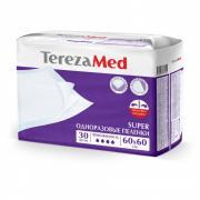 TerezaMed Пеленки одноразовые впитывающие TerezaMed Super 60х60 уп.30