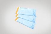 Евромедсервис Пакеты для паровой стерилизации, 150х250 мм