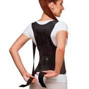 Бандаж грудопоясничный (черный) Польза 1402 (№4 (обхват груди 90-100 см))