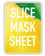 KOCOSTAR Маска-слайс для лица, лимон / SLICE MASK SHEET LEMON 20 мл