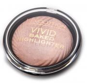 MAKEUP REVOLUTION Хайлайтер для лица / VIVID BAKED HIGHLIGHTERS Peach Lights