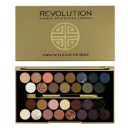 Makeup Revolution Палетка теней 30 Eyeshadow Palette Fortune Favours The Brave