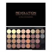 Тени для век Палетка Makeup Revolution Ultra 32 Palette - Flawless Matte