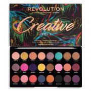 Тени для век Палетка теней Makeup Revolution Creative Vol 1