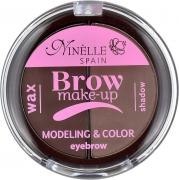 Палетка для бровей Ninelle Brow Make-Up, №04