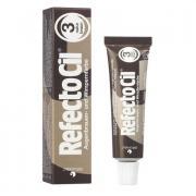 Краска коричневая для ресниц № 3, REFECTOCIL Австрия 15 мл
