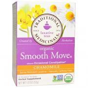 Organic Smooth Move, ромашка, без кофеина, 16 чайных пакетиков, 32 г (1,16 унций)