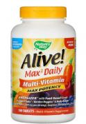 Alive! Max3 Daily Мультивитаминный комплекс без добавления железа 180 таблеток (Nature's Way)