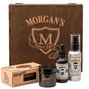 Morgan's - Премиальный подарочный набор для бороды и усов