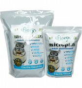 корм Fiory для шиншилл Micropills Chinchillas, 850 г