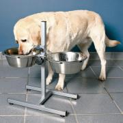 Trixie Стойка с мисками для собак 2 х 1,8 л.