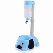 Фонтан питьевой воды с чашей для собак (Голубой)