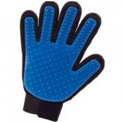Перчатка для вычесывания животных True Touch (Черно-синий)