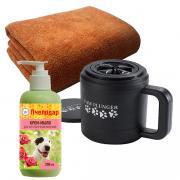Лапомойка для собак Paw Plunger черная малая