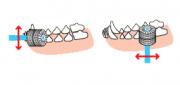 Зубная щетка YokoYoko 360° для собак и кошек