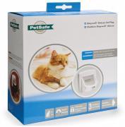 Дверца для кошек и собак Staywell Magnetic Deluxe с магнитным ключом, белая