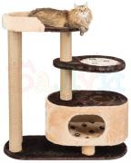 Товары для кошек Балуй Балуй-02 домик для кошек с лежанкой и гамаком