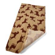 Меховой коврик для собак на нескользящей основе Bronte Glen Multi Dog 100х160