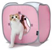 "Kitty City Домик для кошек ""Кубик Рубик"", 38x38x38 см (140 г)"