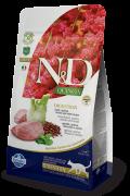 Farmina N&D Quinoa Adult Cat Digestion Lamb (ягненок с киноа) беззерновой сухой корм для взрослых кошек для поддержки пищеварения (5 кг)