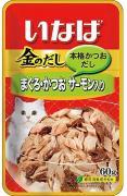 Japan Premium Pet Желтоперый тунец и японский тунец-бонито с семгой, 60 гр, Japan Premium Pet