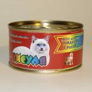 Кисуля консервы для котят Паштет «Индейка с рисом».
