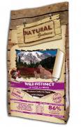 Сухой корм для кошек и котят Natural Greatness Wild Instinct, индейка, 18 кг