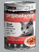 """Консервированный корм для кошек Probalance """"Active"""", 415г"""