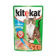 """Корм для кошек """"Китекат"""" с рыбой 85гр"""