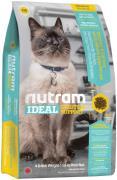Сухой корм для чувствительных кошек I19 CAT skin coat and stomach Nutram на 6.8KG