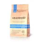 Grandorf Сухой беззерновой корм для взрослых кошек с белой рыбой и бататом White Fish Potato Adult Sensitive 2 кг