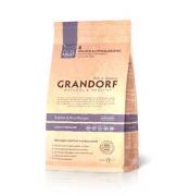 Grandorf Сухой низкозерновой корм для стерилизованных кошек с кроликом и рисом Rabbit Rice Adult Sterilized 2 кг