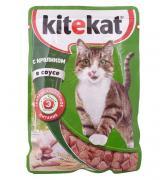 """Корм для кошек """"Китекет"""" с кроликом в соусе 85гр"""