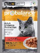 """Консервированный корм для кошек Probalance """"Immuno"""" с говядиной, 85г (25шт. в уп.)"""