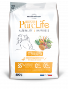 Сухой корм для кошек Flatazor Pure life sterilized with duck and sardine (400г)
