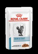 ROYAL CANIN VD SKIN & COAT FORMULA 100 г пауч ветеринарная диета для кастрированных котов и стерилизованных кошек с длинной шерстью