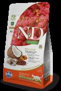 Farmina N&D Quinoa Adult Cat Skin&coat Herring (сельдь с киноа) беззерновой сухой корм для взрослых кошек для здоровья кожи и шерсти (5 кг)