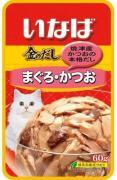 Japan Premium Pet Микс из тихоокеанского тунца и японского тунца-бонито, 60 гр, Japan Premium Pet